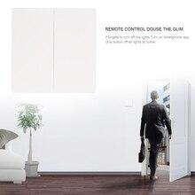 New Aqara Smart Home Remote Control Switch Double Key Wireless Wall Panel Ceiling Lamp Light Control Via Smarphone APP
