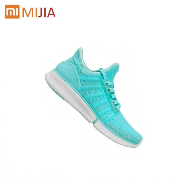 Original Xiaomi Mijia women Smart Sneaker Breathable Air Mesh Sports Shoes Light Free Running Shoes APP Control EUR SIZE 36-39 xiaomi smart shoes mijia running shoes