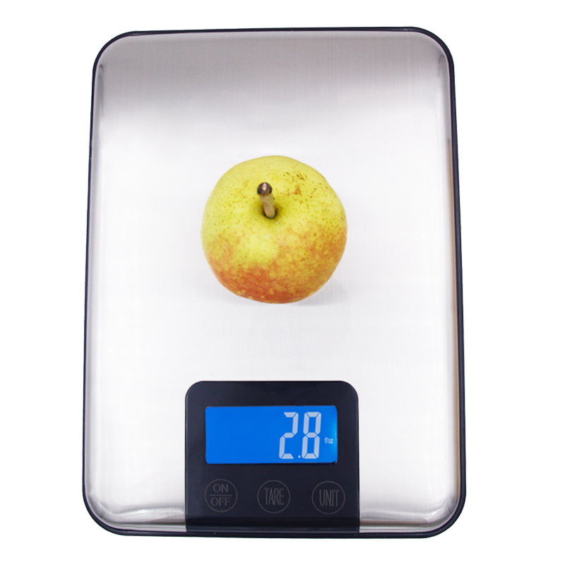 цена 15KG 1g Digital Kitchen Scale 10kg Big Food Diet Weight Slim Stainless Steel Electronic Scales Touch screen With Package 40% off