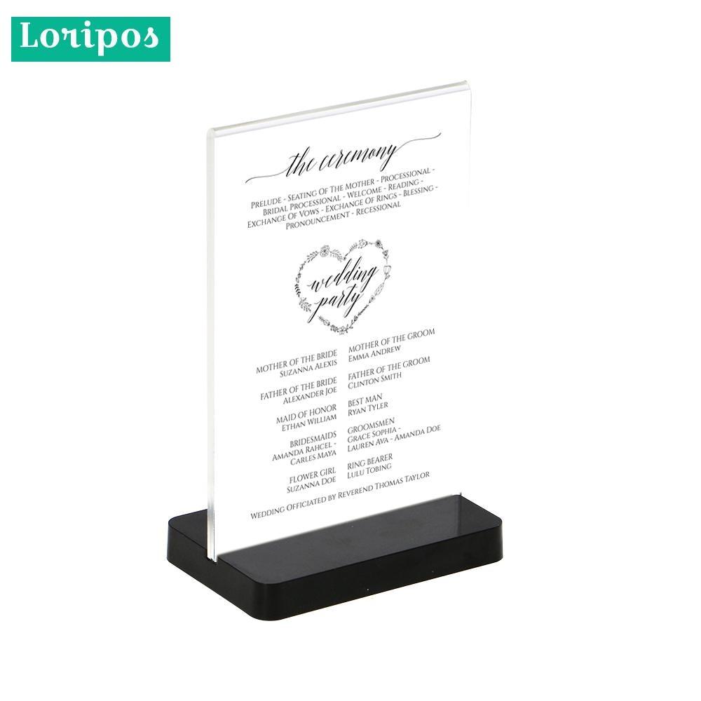 Acrylic Photo Frame A5 Label Holder Photo Frame Desk Sign Holder Menu Stand Plastic Picture Frame Advertising Menu Poster Frame Desk Accessories & Organizer