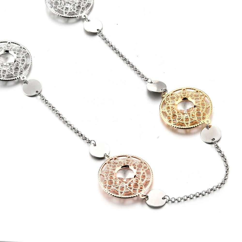 CHICVIE NEW Vintage Long Statement Necklaces & Pendants chain display for Women Jewelry Vintage Accessories Necklaces SNE180012