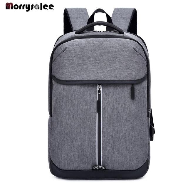 2019 Fashion Large Business Backpack Men USB Laptop Backpacks School Bags Male School Bag Student Schoolbag