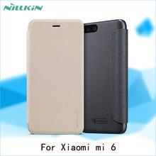 Для Xiaomi Ми-6 Ми 6 Случая NILLKIN Искра Супер Тонкий Раскладной крышка Роскошный Кожаный Чехол Для Xiaomi Ми-6 Случай Мобильного Телефона