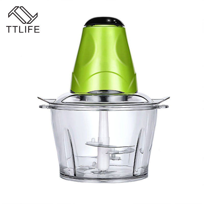 TTLIFE Multi function Kitchen Household Meat Grinder Vegetable Chopper Quick Shredder Cutter Manual Food Processor Kitchen