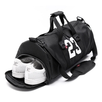 Gym Duffle Tote Bag Fitness Barrel Travel Sports Bag For Women And Men Small Gym Bag