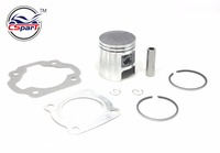 41MM Piston Ring Kit D1E41QMB Qingqi Geely 50CC Scooter Parts