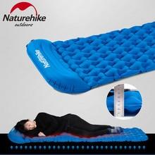 Naturehike надувной матрас Кемпинг спальный коврик с подушкой Открытый Сверхлегкий портативный палатка коврик