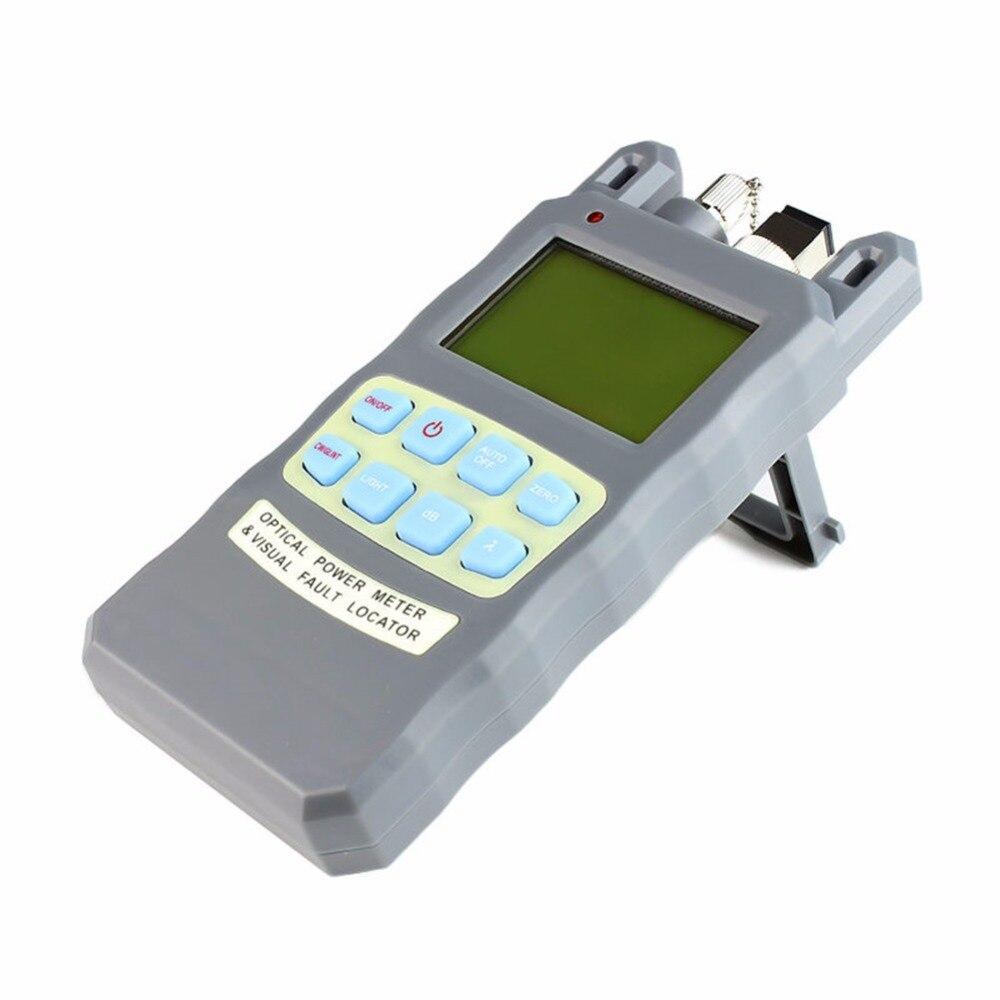 Fiber optical power meter -70 to +10dBm and 10mw 10km Fiber Optic Cable Tester Visual Fault Locator  цены