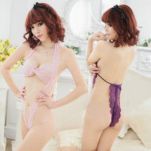 2016 Hot  New Promotion sex products Sexy Underwear Women Sexy Lingerie Ladies Transparent Conjoined Dress Suit Erotic Costumes