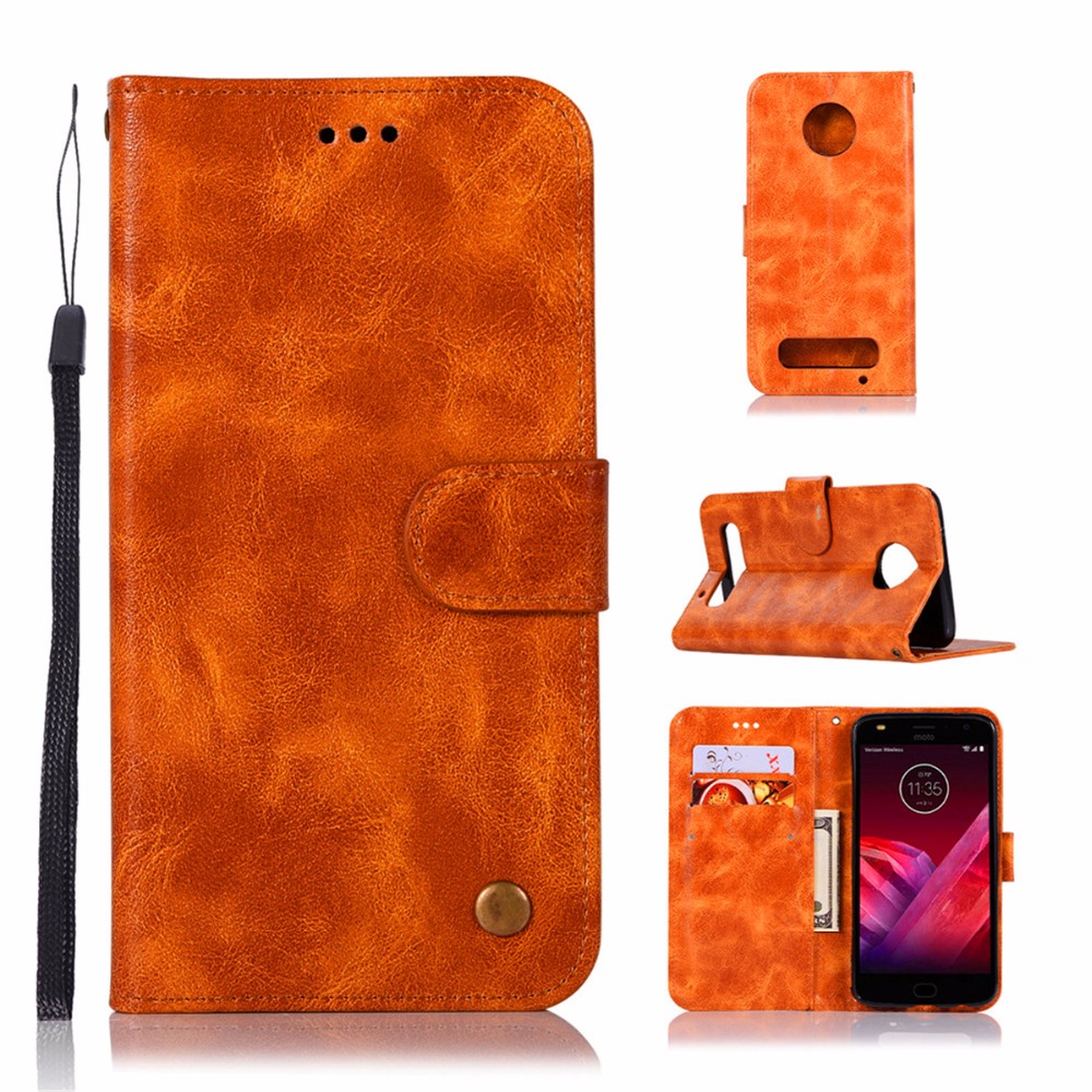 Fashion Wallet Case For Motorola Moto Z Play Handset cover For Motorola Moto Z2 Play Phone Bag with Stand PU Flip Leather Case