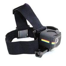 Телесин Эластичный регулируемый ремешок голову Клей Гора Headstrap с рамкой Корпус для Polaroid Cube для экшн Камера аксессуары
