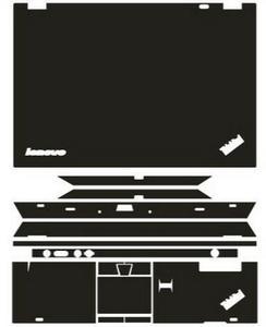 Image 1 - Специальные кожаные Углеродные волоконные виниловые наклейки защитная крышка для Lenovo Thinkpad T430 14 дюймов