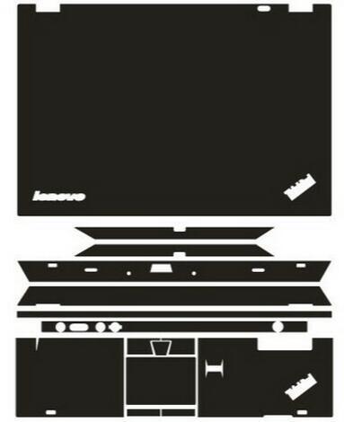 Специальные кожаные Углеродные волоконные виниловые наклейки защитная крышка для Lenovo Thinkpad T430 14 дюймов