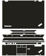 Autocollants en cuir, fibre de carbone, couverture en peau vinylique pour Lenovo Thinkpad T430 14 pouces