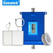 Lintratek مكاسب 70dB 4G إشارة معززة الفرقة 12 + الفرقة 17 المزدوج LTE 700 MHz هاتف خلوي إشارة Rpeater 4Gشبكة مكبر للصوت