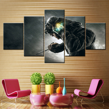 цена на Canvas Painting Dishonored: Game of the Year Edition 5 Piece Wallpapers Art Canvas Print Poster Modular art painting Home Decor