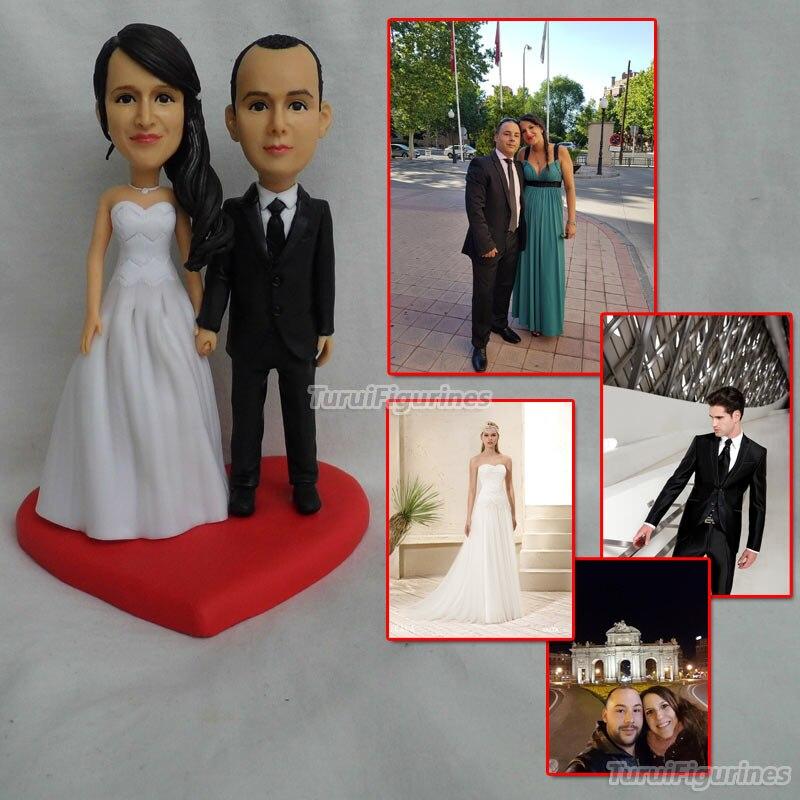 OOAK миниатюрный арт Детские куклы любовь сердце свадебный подарок на день Святого Валентина Подарки на свадьбу, на вечеринку для невесты и ж