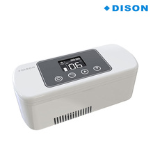 Rechargeable LCD Display Car Insulin Cooler Medicine Mini Fridge Volume Portable Mini Insulin Cooler Refrigerated Box 8/20 Hours 7 5l 4 l car refrigerator mini home dual heating and cosmetic breast insulin refrigerated box
