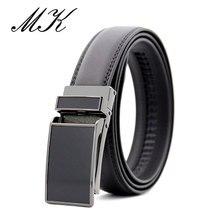Maikun Men's Cowskin Belts for Men Luxury Brand Automatic Bu
