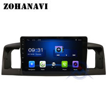 ZOHANAVI Android multimedia system for TOYOTA Corolla E120 BYD F3 Radio DVD GPS with steering wheel control(China)