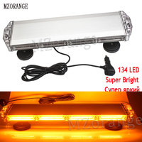 MZORANGE 12V 24V Warnning Lightbar Emergency Led Lights Police Ambulance Strobe Light Flashing Lamp Magnet Basic Amber