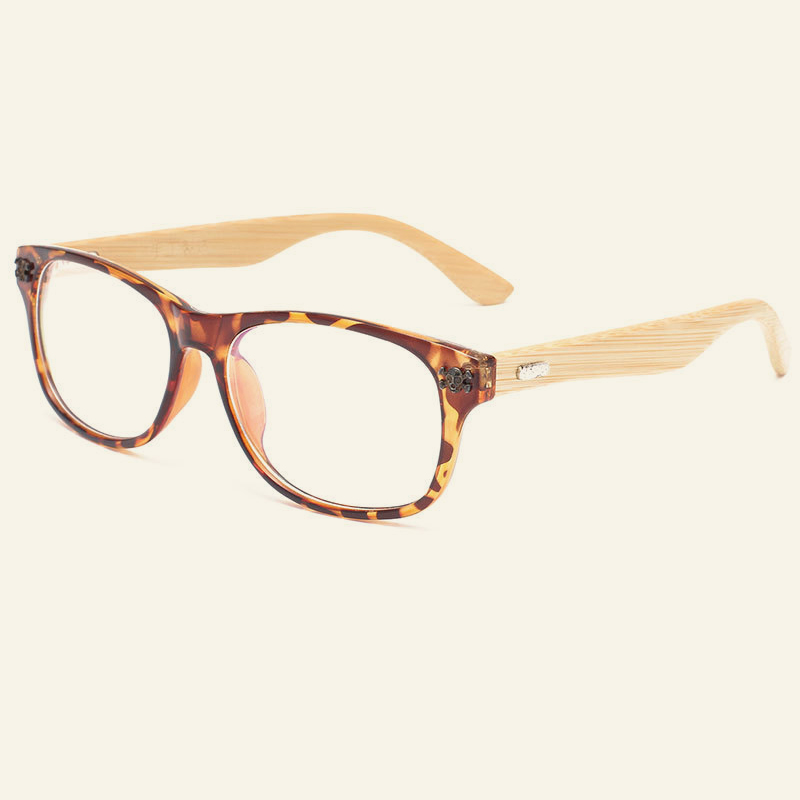 Vintage Japan Handmade Bamboo Glasses Frames Myopia Optical Frame ...