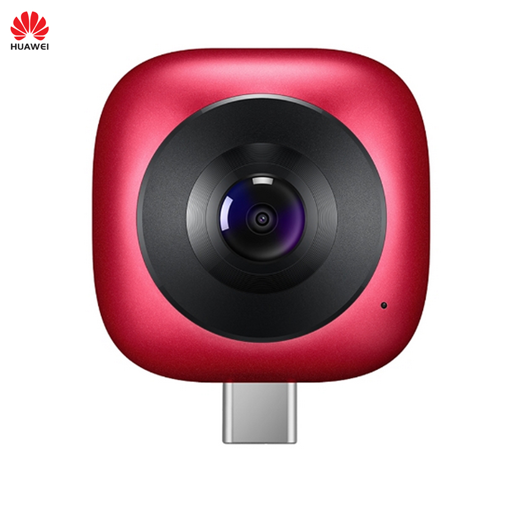 HUAWEI CV60 Cool Edition Panoramic 360 Camera 13MP 5K Photo 2K Full HD Videos Dual Fisheye Phone Camera Lens for Android 6.0-in 360° Video Camera from Consumer Electronics