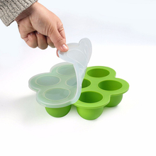 Baby Food Container Silicone Fruit Breastmilk Storage Infant Feeding Tableware Box Freezer