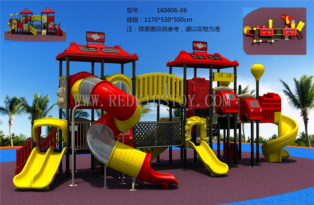 Exported to Canada Anti-rust Amusement Park Playground Reliable Supplier HZ160407