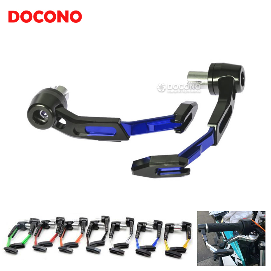 Universal Motorcycle CNC Brake Clutch Levers Guard Protector For bmw Suzuki GSXR1000 GSXR600 GSXR750 GSXR gsf bandit 650 for suzuki gsxr600 gsxr750 gsxr1000 gsx s1000 f tl1000s clutch cable wire adjuster m10 1 5 motorcycle accessories cnc billet