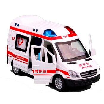 Coche Juguete Bebé Niño Inercia Para Taxi Camión Bomberos Ambulancia De Qrdsth