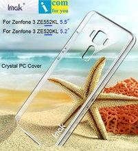 Imak Воздуха Crystal Clear Обложка Чехол Для Asus Zenfone 3 ZE552KL ZE520KL Прозрачный Жесткий PC протектор Shell