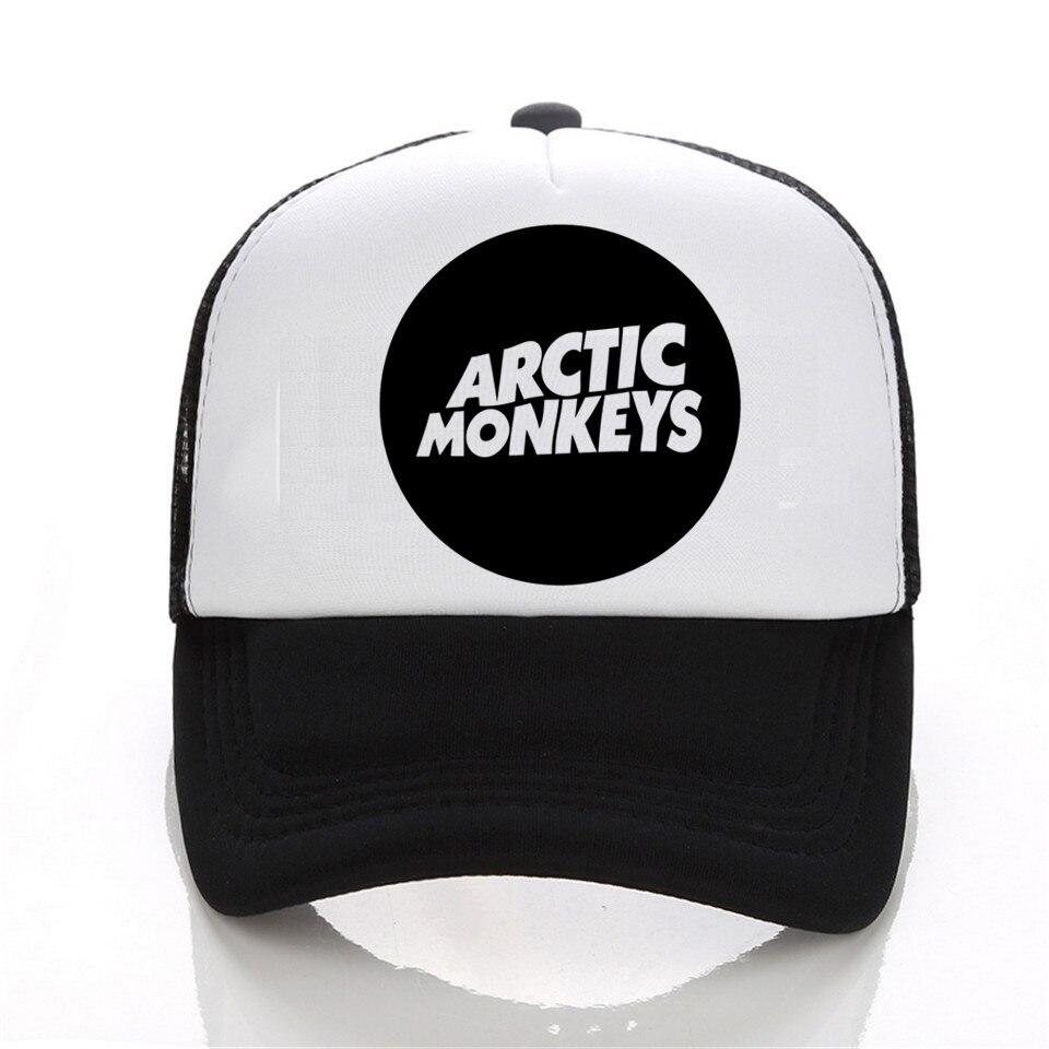 Punk cap Women 2017 Casual Harajuku baseball cap Womens snapback hats Sleeve Arctic Monkeys hat Casual