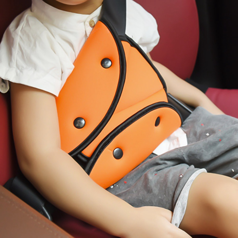 Car Safety Belt Adjust Device Triangle Car Safe Fit Seat Belt Sturdy Adjuster Baby Child Protection Baby Safety For Baby