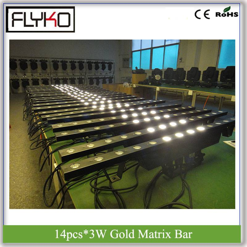 Back To Search Resultslights & Lighting Intellective Led Strip Bar Beam High Quality Factory Price 14eyes 3w Warm White Gold Matrix Strobe Ip20