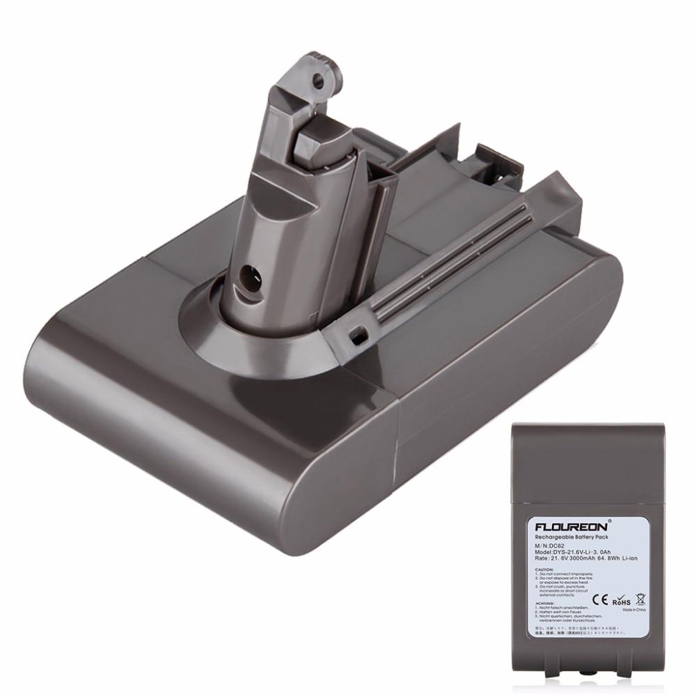 dyson dc62 замена аккумулятора видео
