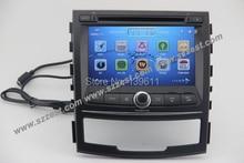 Free Shipping!! ZESTECH Car Auto Multimedia DVD Player Touch Screen Car DVD GPS for Ssang Yong Korando