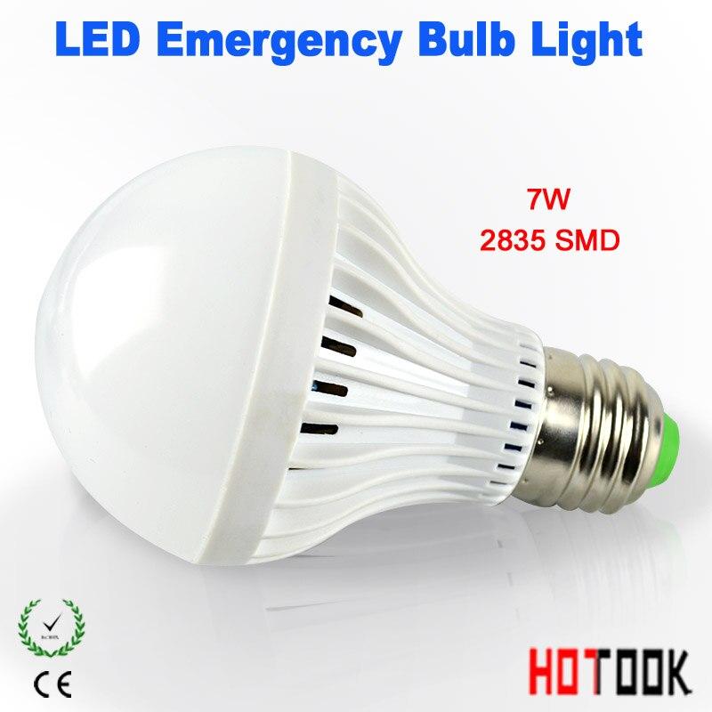 HOTOOK LED Արտակարգ լույս E27 7W 9W 12W Smart լամպ - Մասնագիտական լուսավորություն - Լուսանկար 3