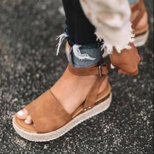 Open Toe Wedge Shoe Sandals