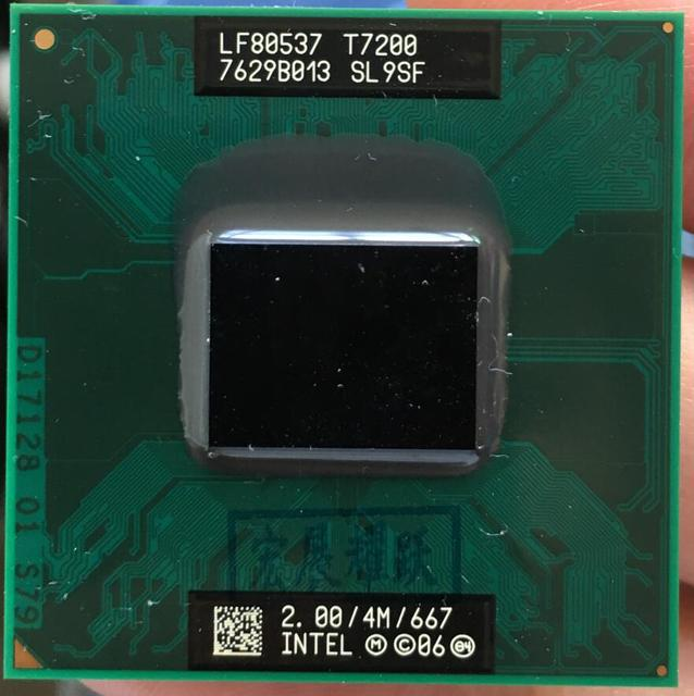 INTEL T7200 DRIVERS FOR WINDOWS