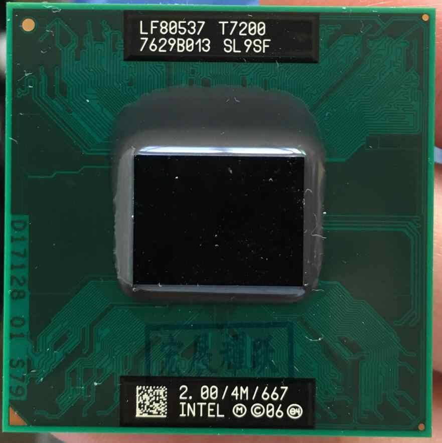 PGA CPU Del Computer Portatile processore Intel Core 2 Duo T7200 478 cpu 100% di lavoro correttamente