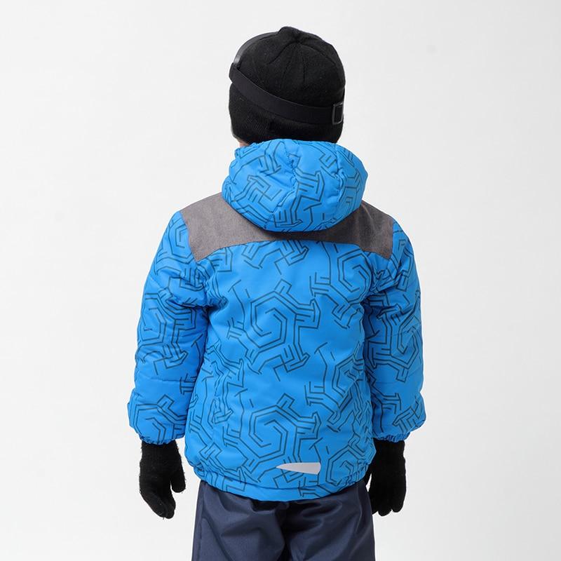 Moomin oğlan qış palto 2017 yeni Polyester Aktiv başlıqlı - Uşaq geyimləri - Fotoqrafiya 2