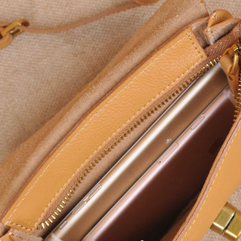 Mini Canvas Tote Bags | AETOO New Mini Female Bag Head Layer Cute Little Messenger Bag Sweet Lady Wave Edge Leather Phone Bag