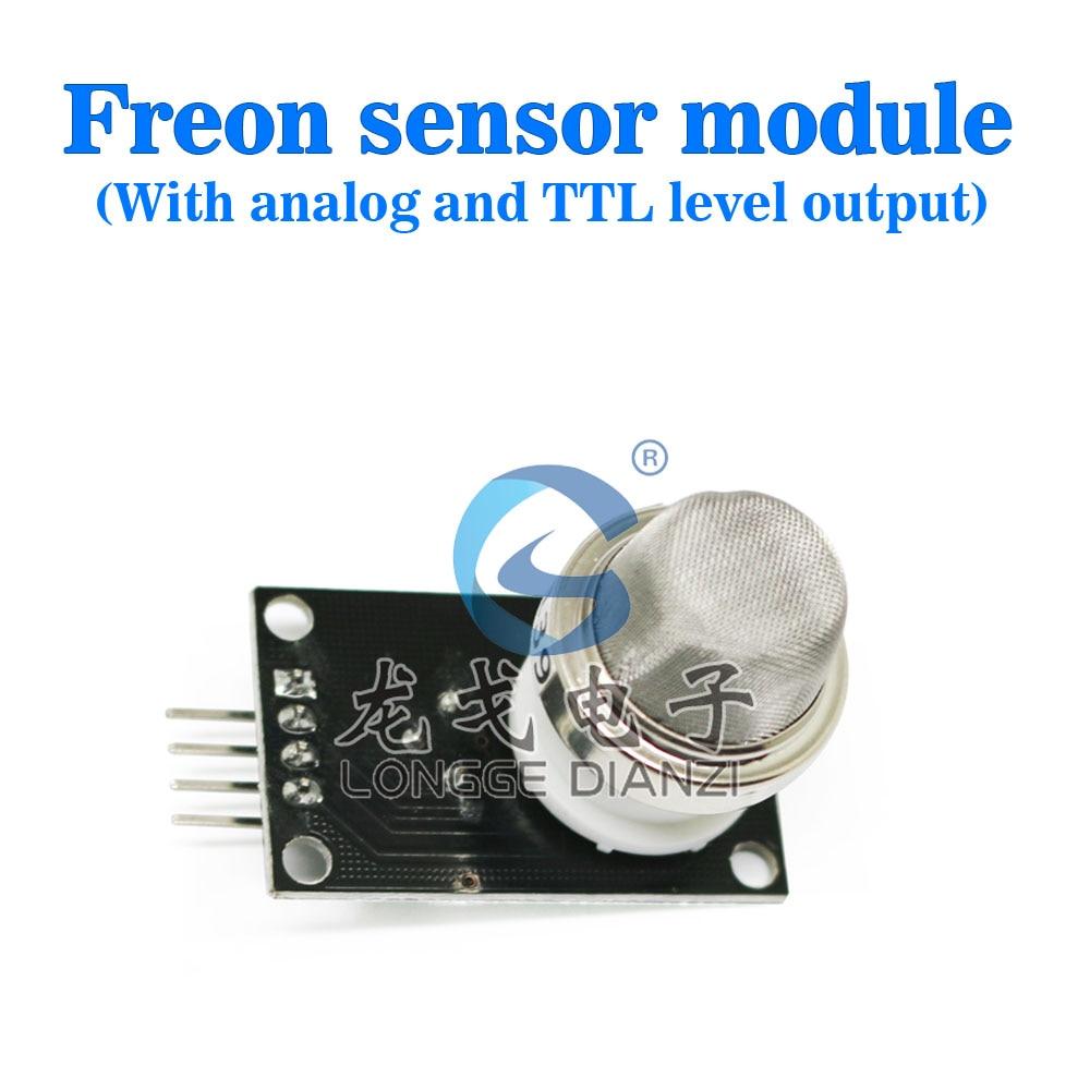High quality R134A 10-1000ppm Freon gas sensor module MQ-139 MQ139 Freon detector analog output&TTL level output  Free shipping digital output voc air quality analog output formaldehyde sensor qs 01 module as aqm201