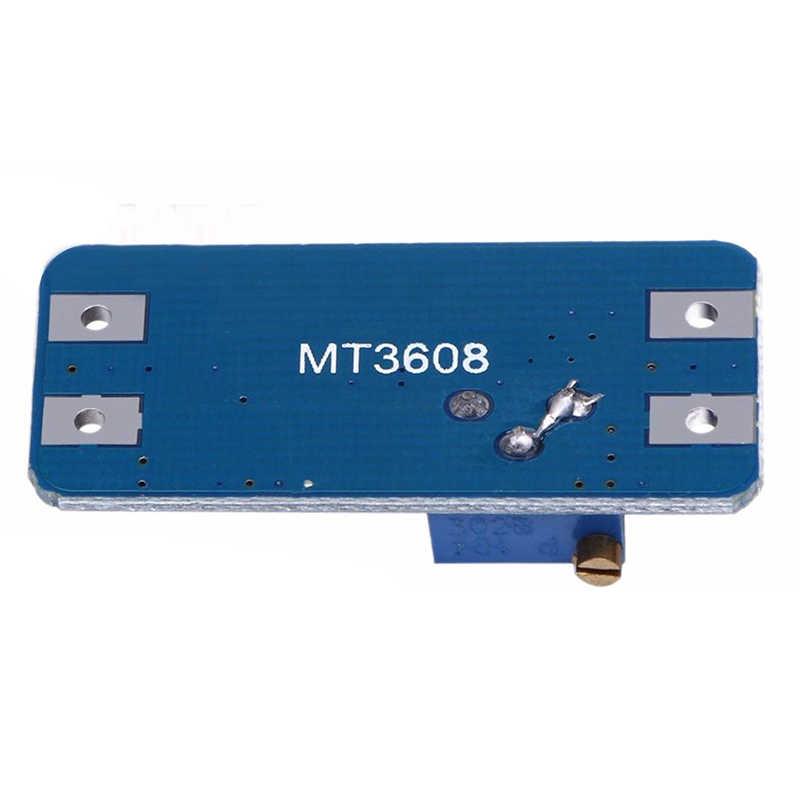 JFBL Горячие 2 шт MT3608 DC-DC Регулируемый повышающий мощность модуль преобразователя для и более