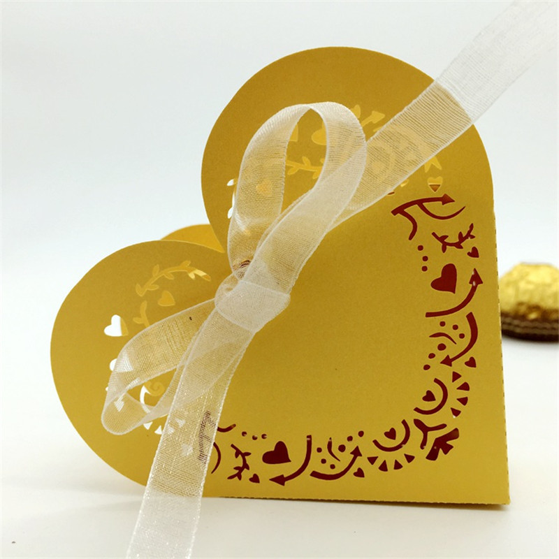 New 60pcs Lovely Wedding Candy Box Wedding Favour Boxes Sweet Cake Gift Boxes Heart Shape Bags Anniversary Party-in Candy Boxes from Home u0026 Garden on ... & New 60pcs Lovely Wedding Candy Box Wedding Favour Boxes Sweet Cake ... Aboutintivar.Com