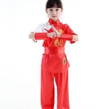 Clothes Men Unisex Wushu Clothing Children
