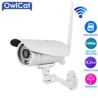 Owlcat 3516C 1 2 8 SONY323 Full HD 1080P Bullet Outdoor Waterproof WIFI IP Camera Two