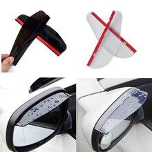 Universal Car Accessories Rearview Mirror Rain eyebrow Rain Cover for Hyundai Solaris i20 ix25 i30 ix35 i40 SantaFe