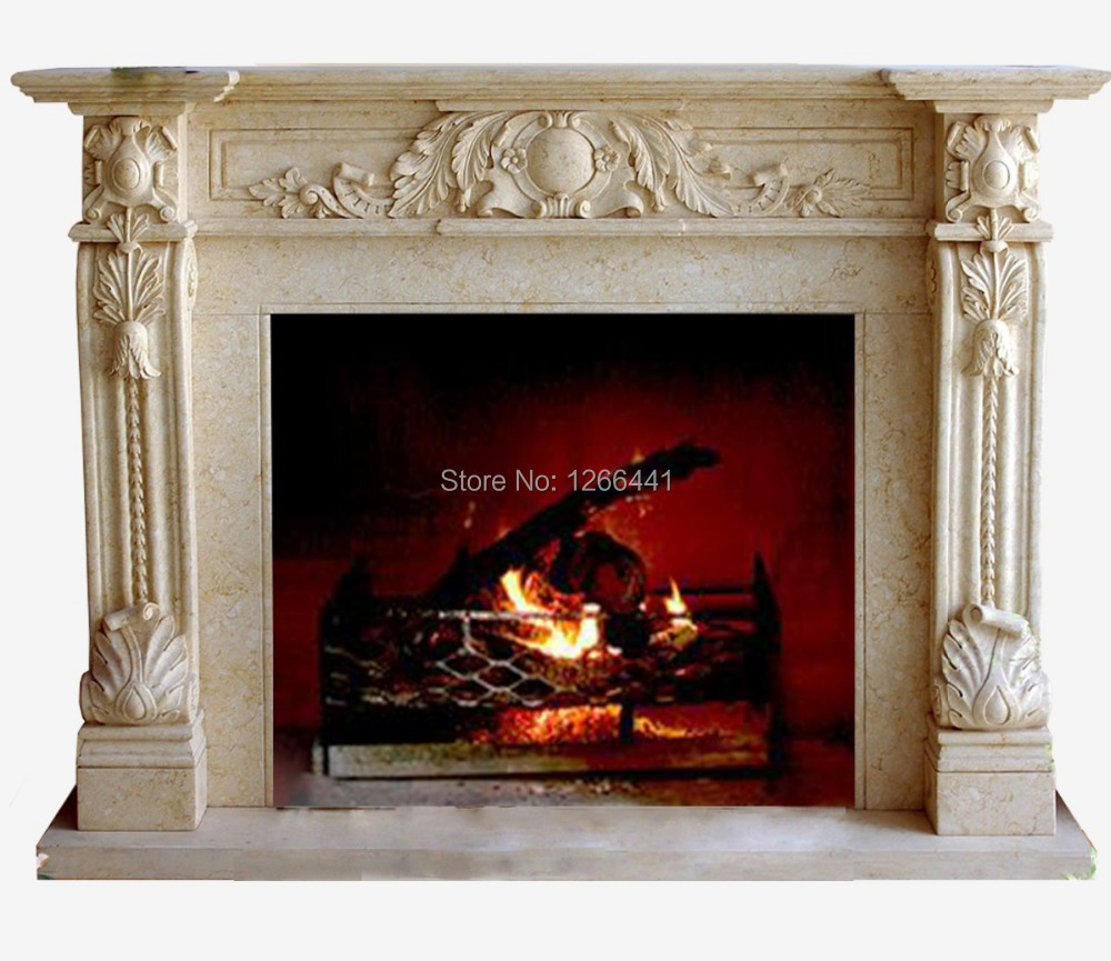 get cheap marble fireplace mantel aliexpress